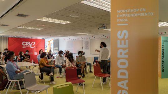Workshop en Emprendimiento para Investigadores en Formación